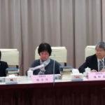 監察院舉行11位準監委座談會,陳師孟成全場媒體焦點
