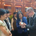 國家文創禮品館整合台灣地方特色產業  廖永來要讓台灣產製的優良商品被看見