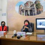 監察院長陳菊受理花蓮民眾26年以來第一件視訊陳情案件