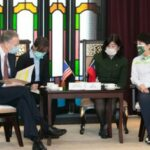 美國在台協會處長酈英傑到訪  盧秀燕當面反萊豬    AIT:政治人物散播不實資訊是無益的!