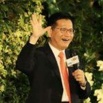 台北101跨年煙火如期施放林佳龍:讓全世界知道台灣還可跨年!