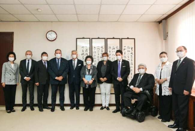 法國參議院友台小組拜會監院,陳菊:盼台法有更多人權合作機會